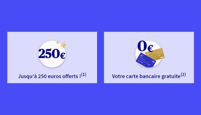 axa 250€ offerts