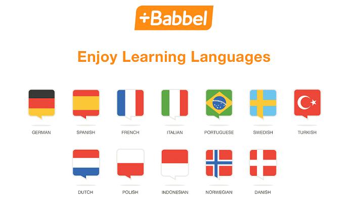 babbel langues