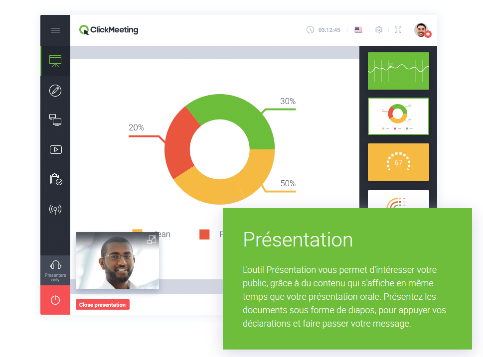 clickmeeting presentation